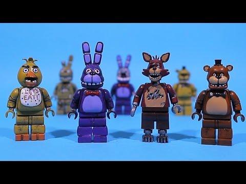 LEGO Five Nights At Freddy's Figures PART 9 (Chica Foxy Bonnie Freddy)