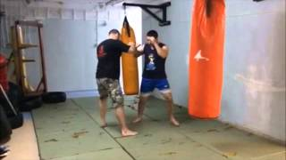 Street fight Sanda- drill for stamina -Ulicni boj -SiFu Jelovac