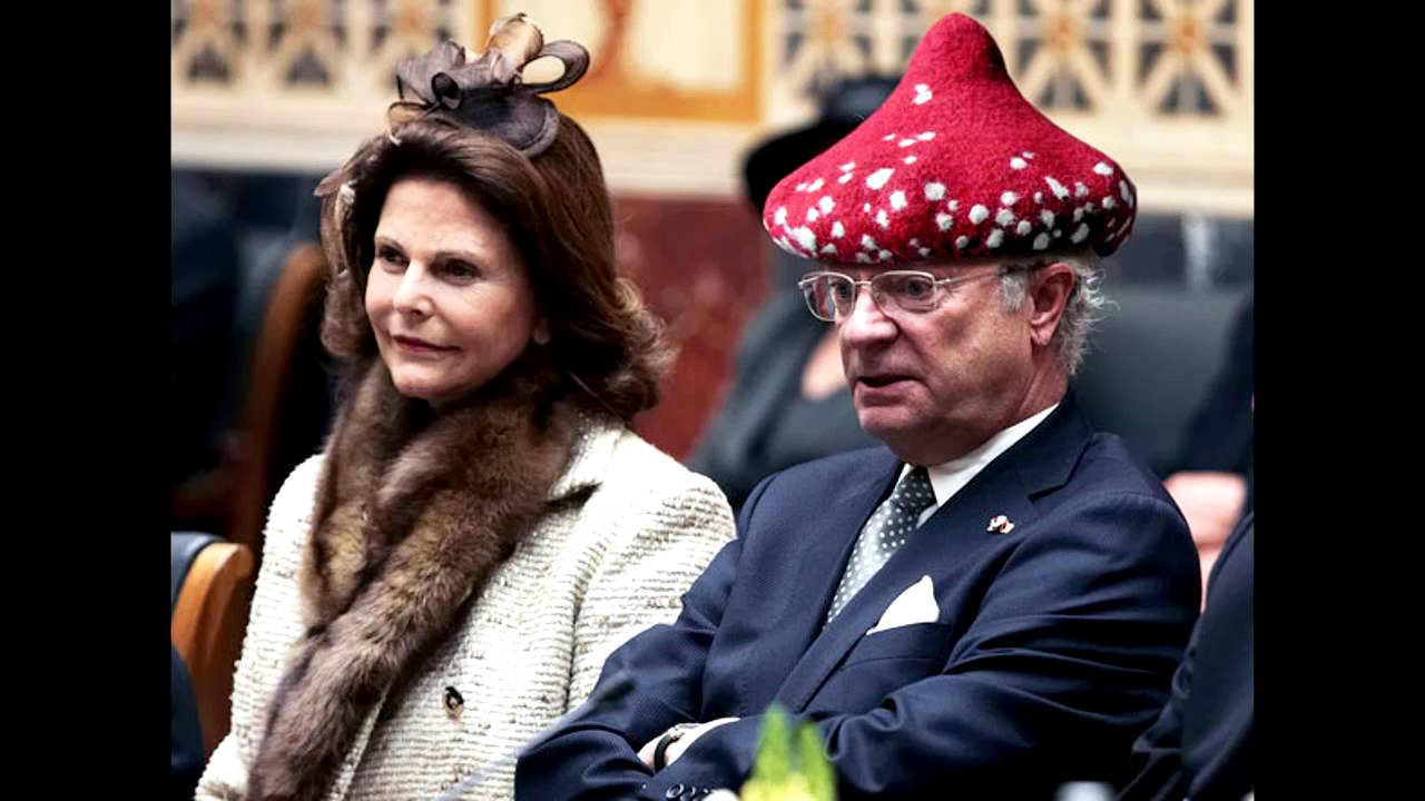 why is the swedish king wearing such silly hats