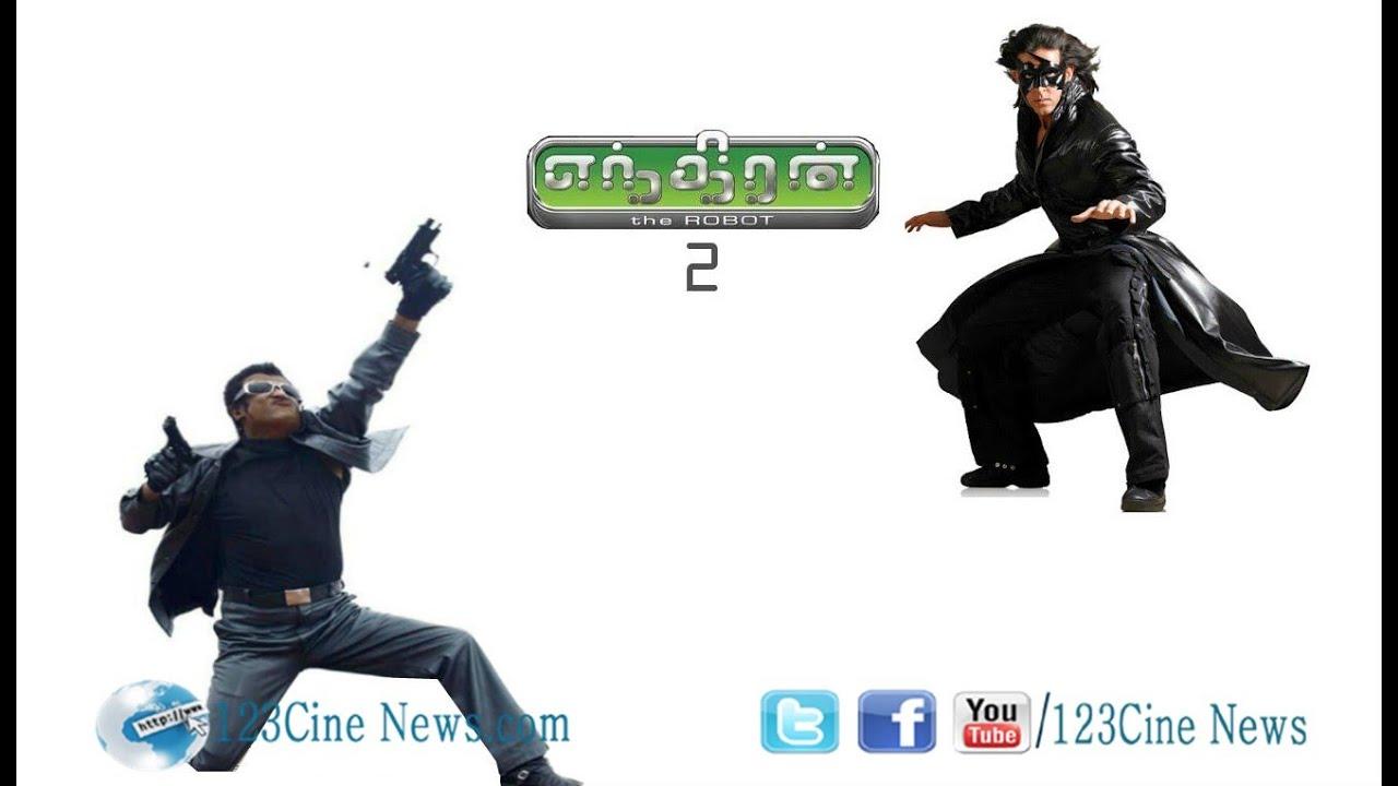 Hrithik Roshan replaced Arnold in Rajini's Enthiran 2?| 123 Cine news | Tamil Cinema news Online