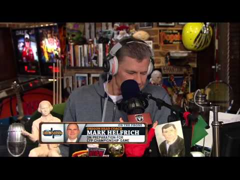 Mark Helfrich on The Dan Patrick Show (Full Interview) 1/6/15