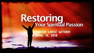 Restoring Your Passion