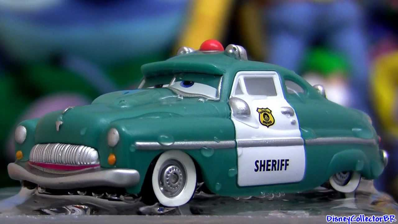 Wet Sheriff Color Changing Cars From Disney Colour