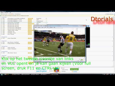 Gratis Voetbal Kijken via SopCast - Tutorial