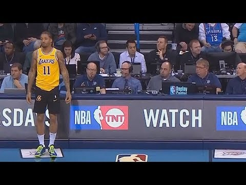 Download Lagu  Michael Beasley Forgets To Wear Lakers Shorts! Lakers vs Thunder Mp3 Free