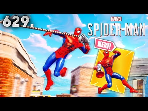 SPIDER-MAN SKIN IN FORTNITE..!! Fortnite Funny WTF Fails and Daily Best Moments Ep.629