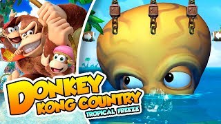 ¡Guárdate esos tentáculos! - #16 - Donkey Kong Country Tropical Freeze (Switch) DSimphony
