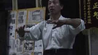 意拳锻炼 Yiquan training, 09-17,俯抱桩 Covering and Holding Pillar, pt1-10