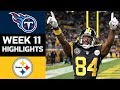 Titans Vs Steelers NFL Week 11 Game Highlights mp3