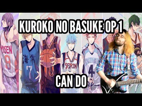 Kuroko No Basuke OP: Can Do    黒子のバスケOPテーマ【弾いてみた】