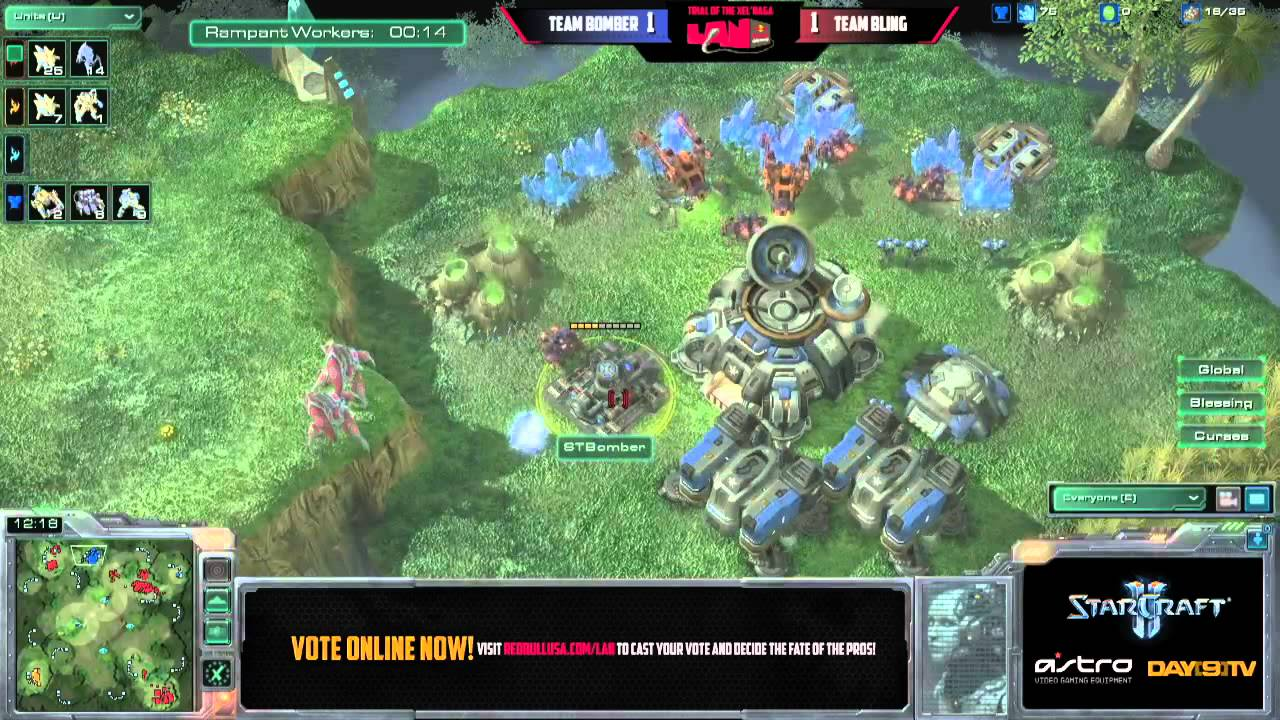Team BlinG vs Team Bomber G3 Red Bull Seattle Round of 8 Match D