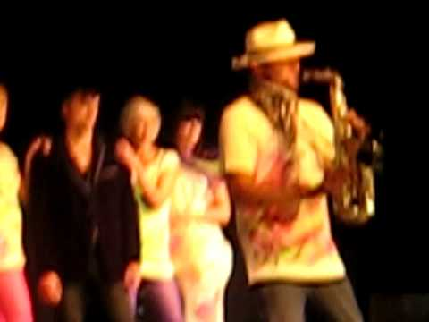 Peter Sax & Kevin - Pjanoo + On The Move (live Stuhr Hairshow) video