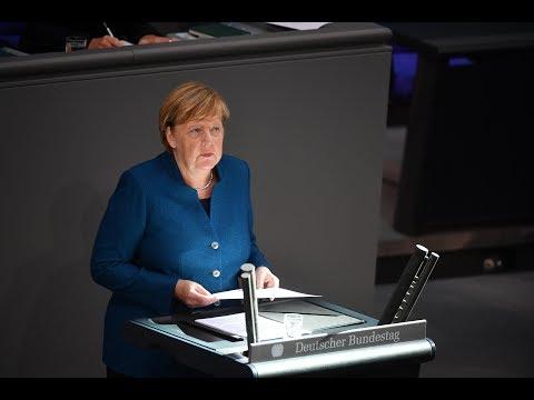 Angela Merkel Seitenhieb auf AfD bringt den Bundestag zum Lachen