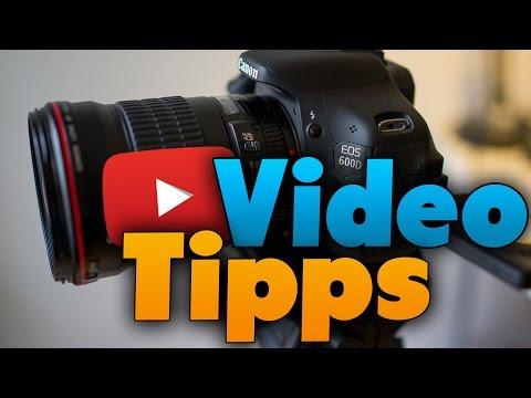 Bessere YouTube-Videos Machen (Tutorial 1/3) Kamera-Technik