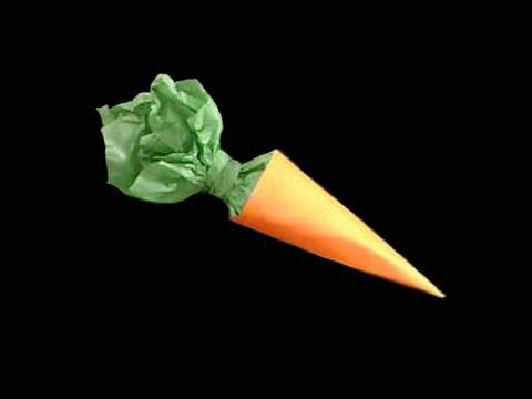 Easy paper crafts paper carrot sweets