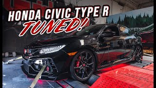 We Tuned the 10th Gen Honda Civic Type R  | How Much Horsepower!?