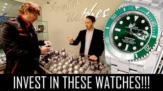 THE BEST INVESTMENT WATCHES YOU CAN BUY!!
