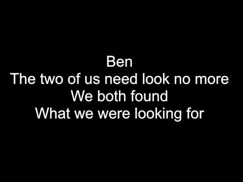 BEN - HD With Lyrics! MICHAEL JACKSON By: Chris Landmark