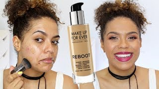 Make Up For Ever Reboot Foundation Review + Wear Test!