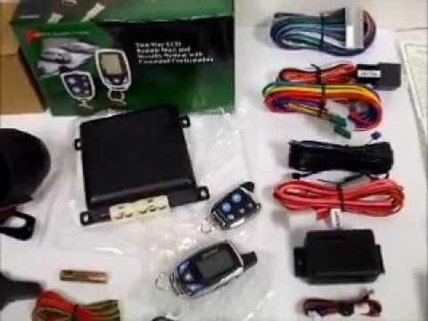 Prestige APS997c Alarm Remote Start System Overview