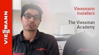 Hamid Fard and Matt Saunders from A Plus Heating Services – Viessmann Academy training