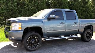2009 Chevrolet Silverado LIFTED TRUCKS FREDERICKSBURG VIRGINIA @DLUX_MOTORSPORTS
