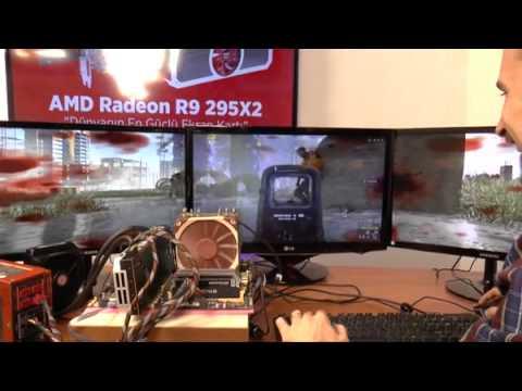 AMD Radeon R9 295X2 video inceleme  Ekran kartı dünyasının yeni kralı sahnede