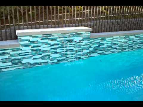swimming pool glass youtube