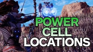 Horizon Zero Dawn: All Power Cell Locations  - Best Way to Play