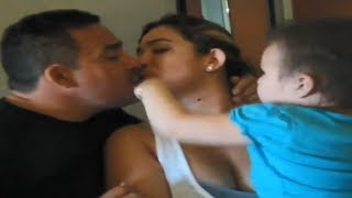 kid jealous of parents kissing part 2