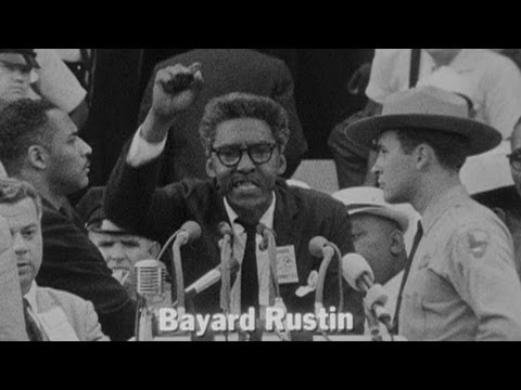 Black, Gay & Pacifist: Bayard Rustin Remembered For Role in March on Washington, Mentoring MLK 1/2