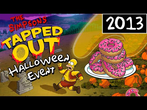 The Simpsons: Tapped Out - Halloween Event - 4 Methods To Getting Free