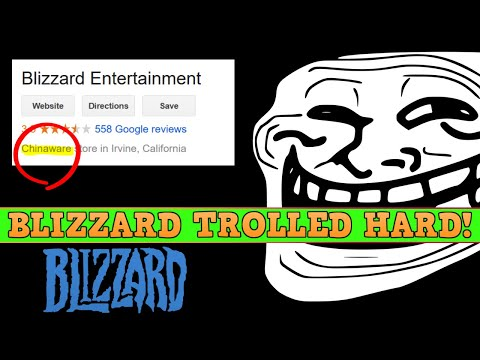 "Blizzard HILARIOUSLY Trolled & Journos Back China To ""Own Gamers"""