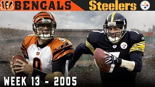 1st Place At Stake in the Steel City! (Bengals vs. Steelers 2005, Week 13)