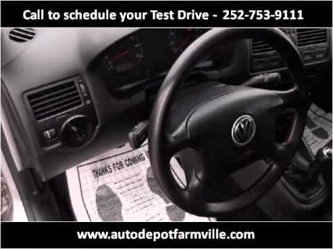 2001 Volkswagen Jetta Used Cars Farmville NC