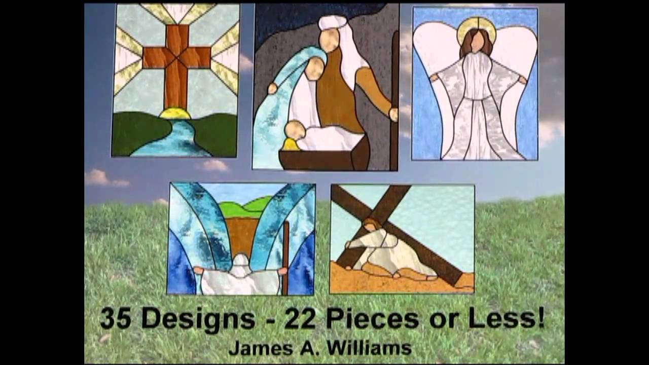Signs Of God Religious Stained Glass Patterns 35 Designs