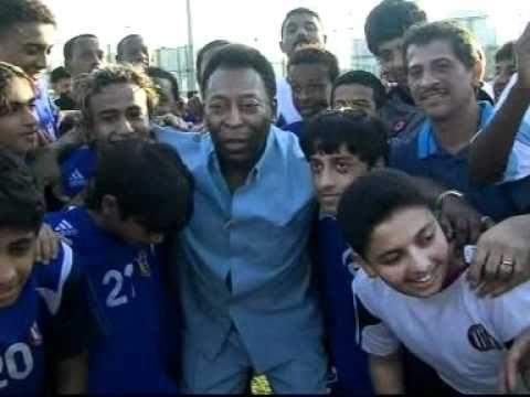 PELE in Al Jazira Sports Club, Abu Dhabi