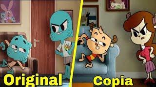 Download Lagu La copia de GUMBALL / 5 Caricaturas que copiaron a otras caricaturas Gratis STAFABAND