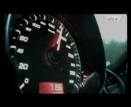 290 km/h en Audi R8 (Option Auto)