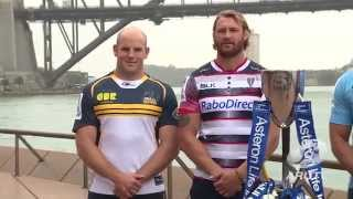 Australian 2015 Super Rugby Launch | Super Rugby Video Highlights