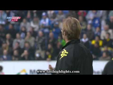 Hoffenheim 1-0 Borussia Dortmund / Goal: 63'   Ibisevic V. (Beck A.)