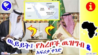 ዉይይት፤ የአረቦች ዉዝግብ ዳፋ በአፍሪቃ ቀንድ - Saudi * Qatar * Arabs * Africa * World - DW