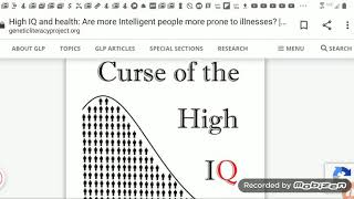 Curse Of The High IQ