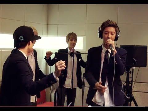 정오의 희망곡 김신영입니다 - EXO Kai & Chan Yeol - Dang Dang Dang, 엑소 카이 & 찬열 - 땡땡땡 20130829 Music Videos