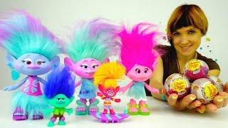 Мультик ТРОЛЛИ: детский сад с игрушками из мультфильма Тролли