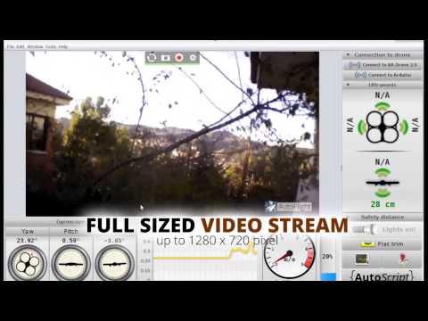 AutoFlight - The most powerful AR.Drone control program (for PC). Смотреть