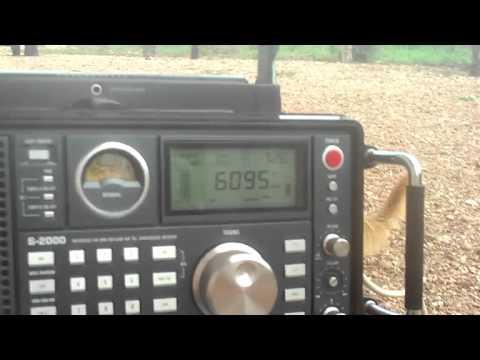 6095 kHz KBS World Radio , in Japanese Language , Kimjae , South of Korea