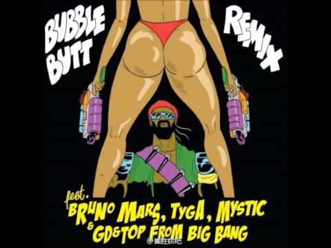 Bubble Butt (feat. Bruno Mars, Gd & Top From Big Bang, Tyga & Mystic) (audio) video