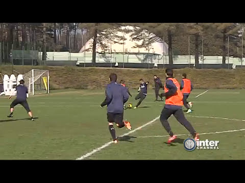 ALLENAMENTO INTER REAL AUDIO 11 02 2014