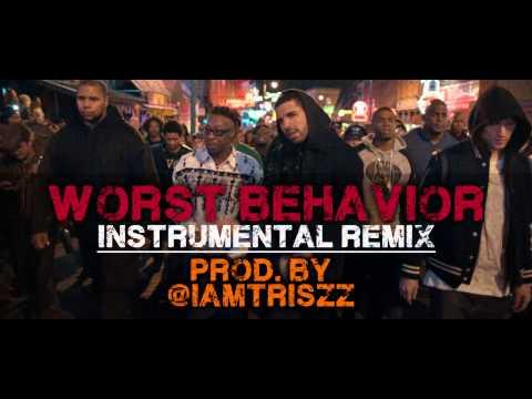 Drake - Worst Behavior - Instrumental video